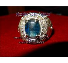 Mustika Blue Safir Cristal Langka