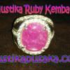 Batu Mustika Ruby Kembang