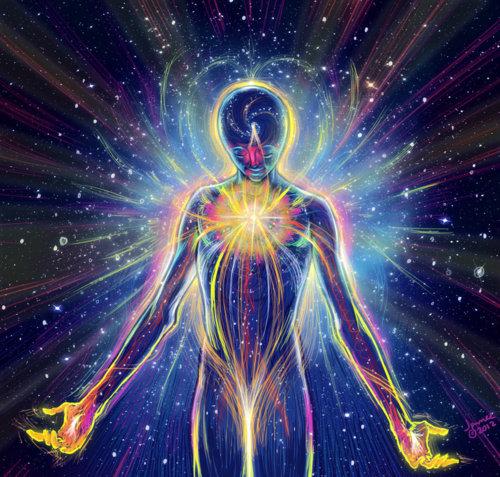 Cahaya ilahi dalam tubuh