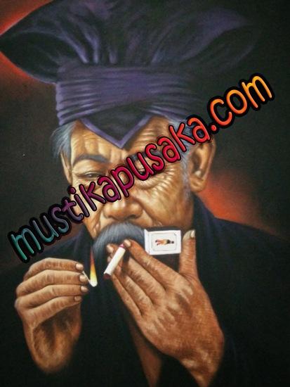Lukisan Khodam Mustika Harimau