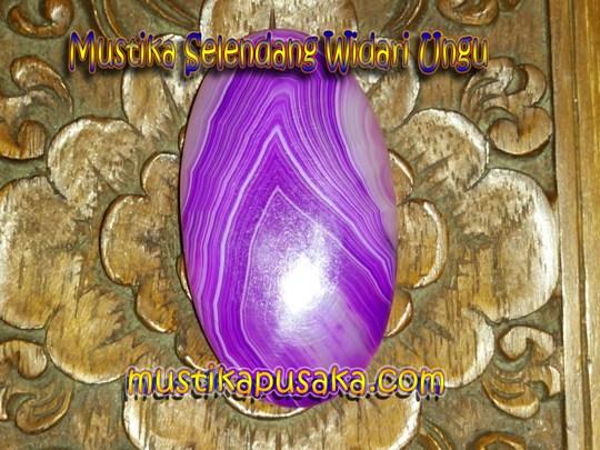 Mustika Bidadari Selendang ungu
